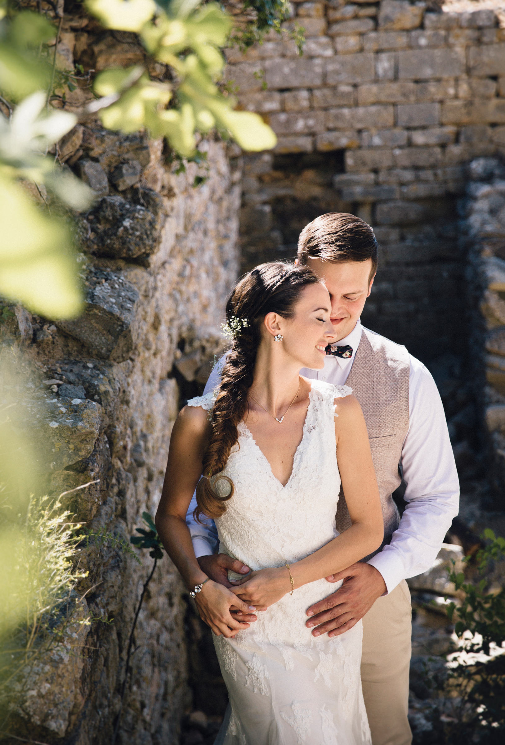 paperbird photography, first look, france wedding, wedding photography